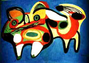 bekende abstracte schilders