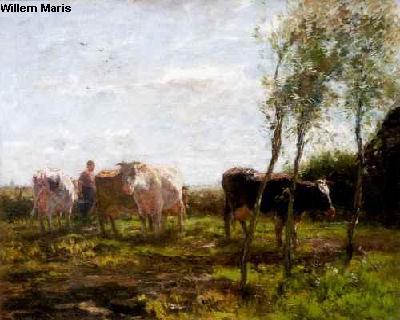 Willem Maris Schilderij