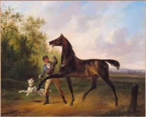 Wouter Verschuur schilderij informatie paard